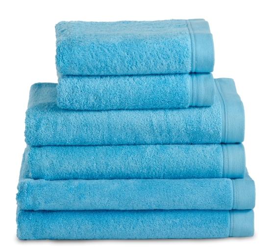Kit lit simple 2 serviettes ponge les cl s blanches - Serviette de bain jalla ...